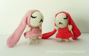 Anata and Atashi [You and me] - Free pattern by Amygurumy