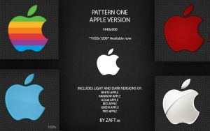 Pattern One Apple 1920x1200 by Zafted