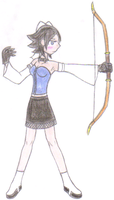 Amaryllis the Archer by FatefulWings