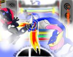Grininja vs Greninja by Legendrawing