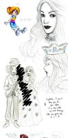 AiW Sketchdump by Elsaaaa