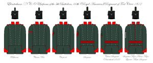 60th Rifles Uniforms 1812 by SimonLMoore