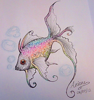 Rainbow fish by why-so-cirrus
