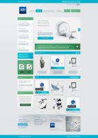 Web design - KPI Georgia by Tngabor