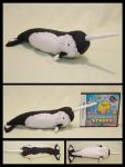 Realistic Narwhal Plushie by cutekick