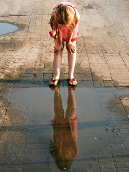 Puddle Mirror by elgiet