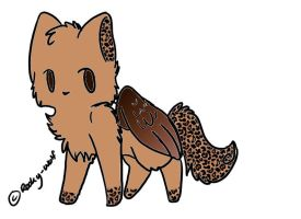 leopard flying cat adopt by haley-loves-you