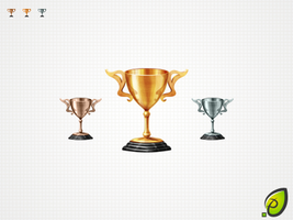 free cup-award icon by pixtea
