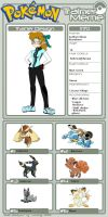 Me as a Pokemon Trainer by chook-four