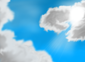 Clouds background by EROCKERTORRES