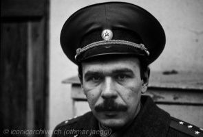 Soviet Army Officer by iconicarchive