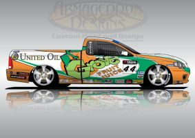 2009 Grove BF V8Ute by ArmageddonDesigns