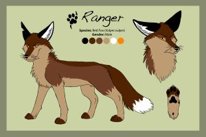 Reference Sheet - Ranger by Saffhire-Phoenix
