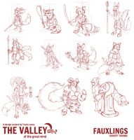 Fauxlings Thumbs Concepts by RavenseyeTravisLacey
