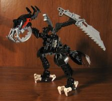 Bionicle Revamp: Nivawk by AleximusPrime