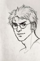 Harry Potter, Work Doodle by trowicia