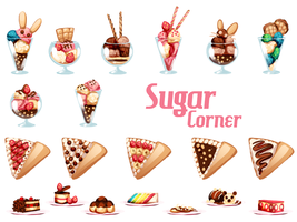 Sugar Corner by drawingum