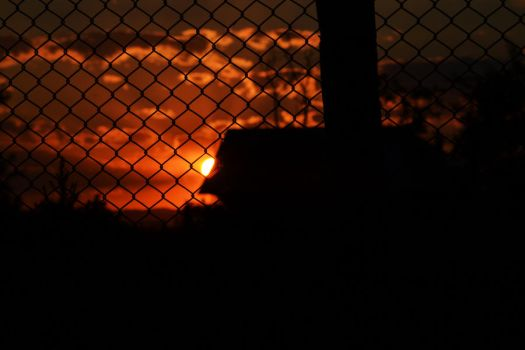 The sun is a prisoner. by VTomina