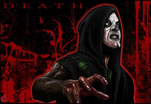 The FOUR HORSEMEN: DEATH by IJS-Creations