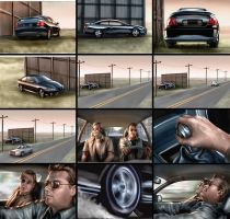 Pontiac Storyboards by chrisscalf