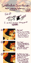 Hair Coloring Tutorial by spittfireart