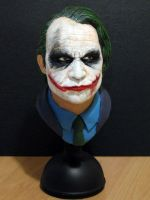 The Joker bust by DannArte