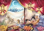 Just a thousand and one nights by Peach-Coke