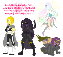 SU: Crystal's Fusions by KPenDragon