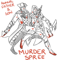 Annual Father-Son Murder Spree by Kiaraz