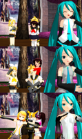 [MMD] Vocaloid and Me [Years Old] by TinaUtsukushiine