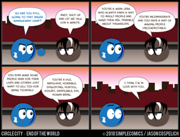 CC444 - End of the World 44 by simpleCOMICS