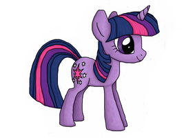 Twilight Sparkle Default by Rambopvp