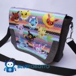 Eeevevolutions messenger bag by BlueRobotto