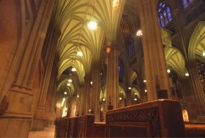The Arches of a Cathedral by TheDreamerWorld
