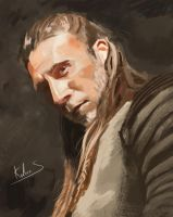 Study-face-charlesvane by Kalberoos