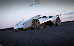Pagani Virtuos R convertible by wizzoo7