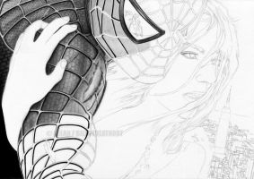 :SPIDERMAN WIP II: by Angelstorm-82