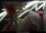 Fall of the Bloodbird by serenitywhitewolf