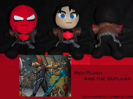 Red Plush and the Outlaws by GothamBeat