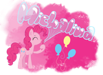 .:Pinkie Pie blow bubbles:. - Request by xNiallersPotatox