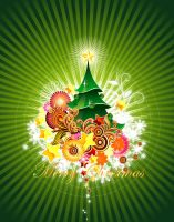 Christmas-Card by vectorbackgrounds