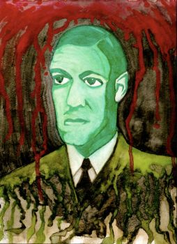H.P. Lovecraft by J3225