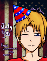 4th of July ~ America by TheAwesomeHero7714
