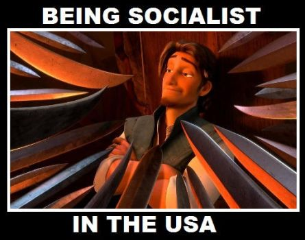 Being Socialist in the USA by Valendale