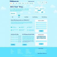 CloudSeo Website by HamidQureshi