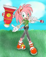Amy Rosey Rose with BG by MagicalCustardSquire