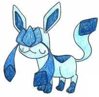 glaceon by FrozenFeather