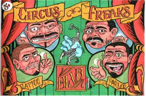 CIRCUS FREAKS by THERESIN