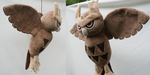 Noctowl Plush by Draxorr