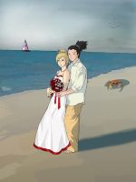 Shikamaru Temari Wedding by creepingninja
